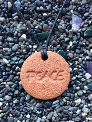 Peace Diffuser Necklace