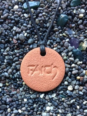 Faith Diffuser Necklace