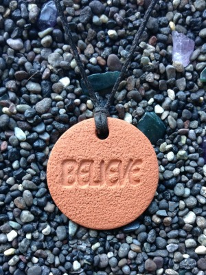 Believe Diffuser Necklace