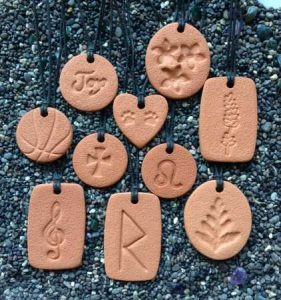 10 of the Terra Cotta Pendant designs