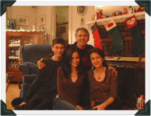 the four of us Christmas 2004